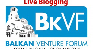 Live Blogging – Balkan Venture Forum Sofia