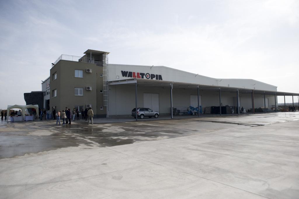 Заводът на Walltopia - Летница