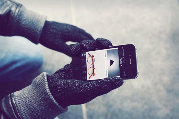 Touchscreen rukavici