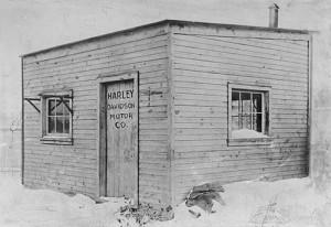Десет компании започнали от гаражи - Harley