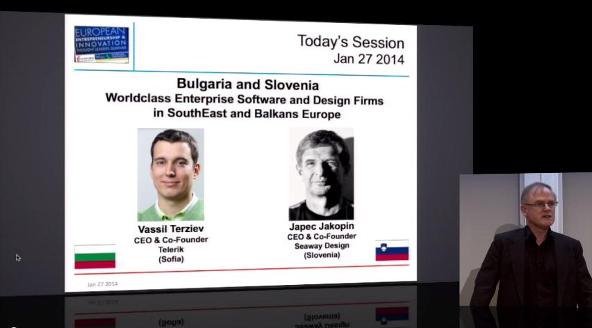Васил Терзиев представя българската предприемаческа екосистема на дискусия в Станфорд