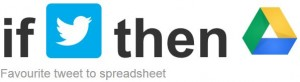 Любими туитове към Google Spreadsheet