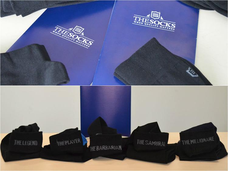 До продаваш чорапи (със стил) - продуктите на TheSocks