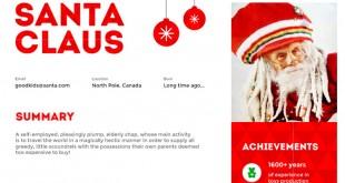 Дядо Коледа търси работа! Виж неговото резюме (Инфографика)