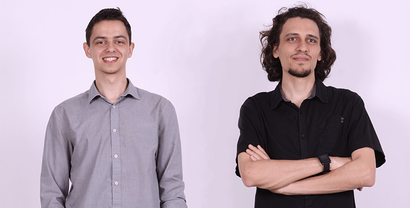 Георги и Ники - основатели на Clusterize