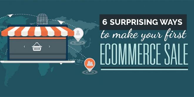 6 изненадващи начина, чрез които да направите първата си онлайн продажба (Инфографика)