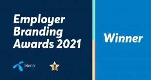 Теленор България с три отличия от годишните награди Employer Branding Awards 2021