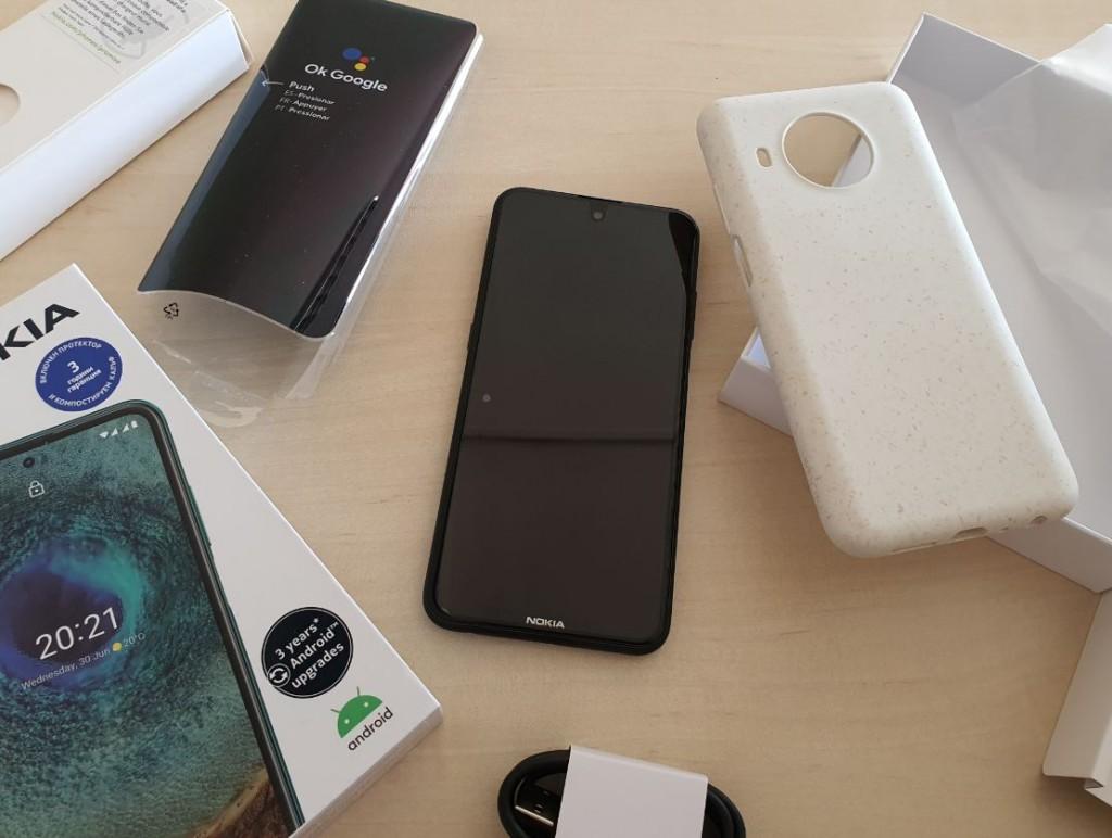 Nokia X10 unpacked